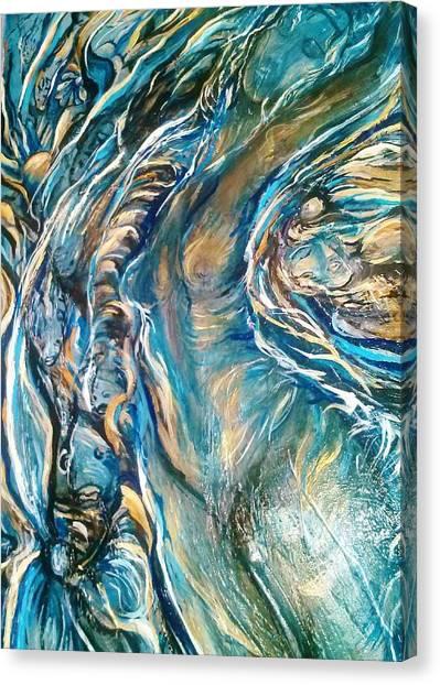 Following Air Canvas Print
