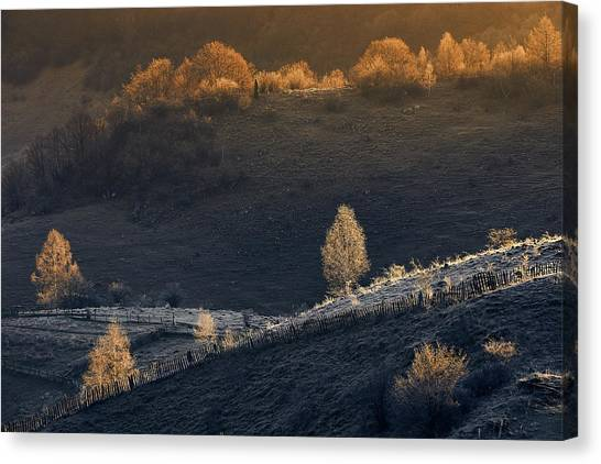Countryside Canvas Print - Fundatura Ponorului by Cristian Lee