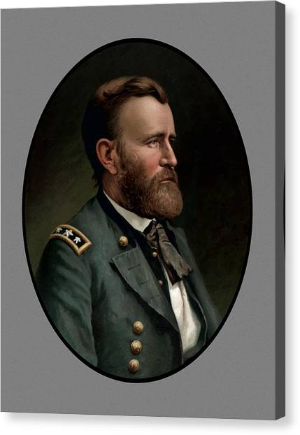 U. S. Presidents Canvas Print - General Grant - Three by War Is Hell Store