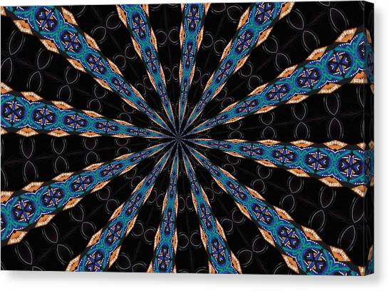 Dean Russo Canvas Print - Graffiti - Galaxee Kaleidoscope by Graffiti Girl