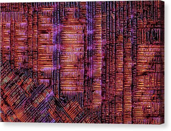 Haematoxylin Crystals Canvas Print by Marek Mis