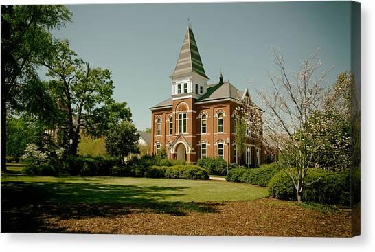 Auburn University Canvas Print - Hargis Hall - Auburn University by Mountain Dreams