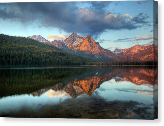 Idaho Canvas Print - Idaho, Sawtooth National Recreation by Jamie and Judy Wild