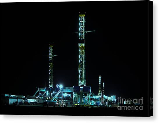 4 In The Hole Canvas Print