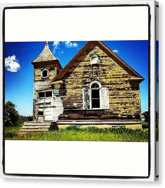 House Canvas Print - Instagram Photo by Aaron Kremer
