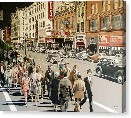 K Street Canvas Print by Paul Guyer