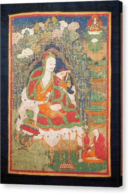Karakoram Canvas Print - Ladakh, India Pre-17th Century by Jaina Mishra