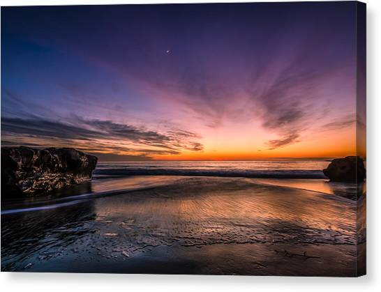 4 Mile Beach Sunset Canvas Print