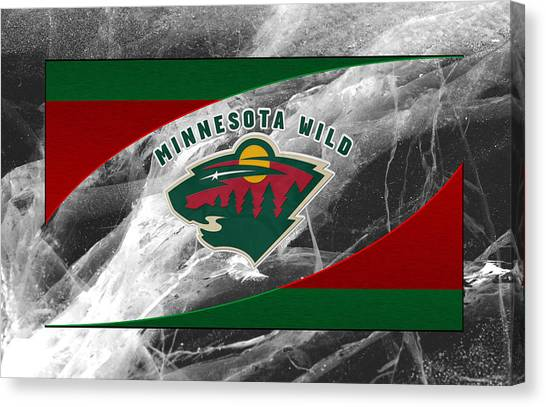 Minnesota Wild Canvas Print - Minnesota Wild by Joe Hamilton