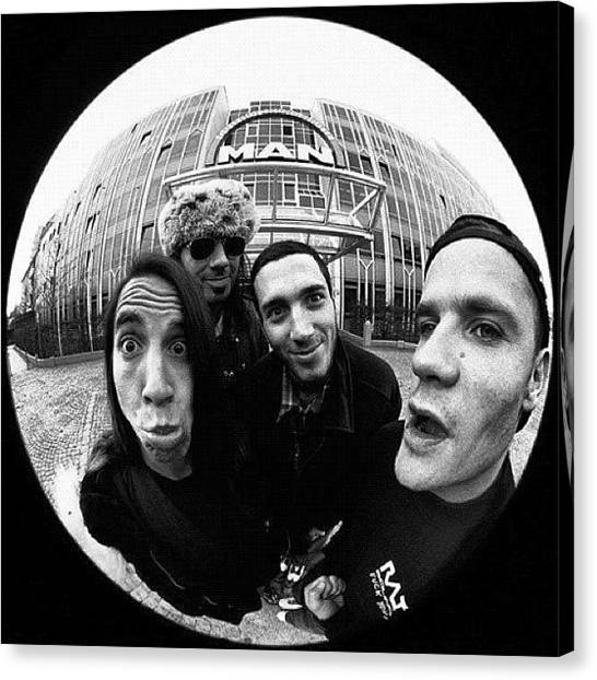Fleas Canvas Print - Rhcp by Danna Parsley