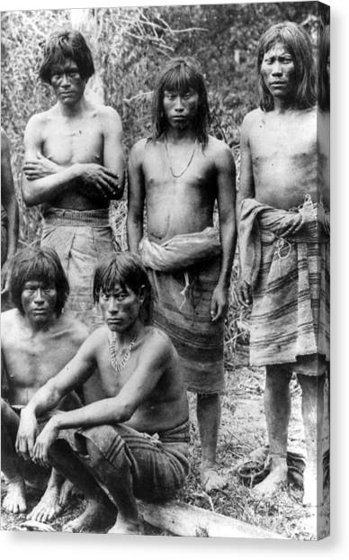 Native Brazilians Canvas Print by Granger