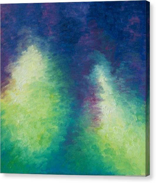Northern Lights Canvas Print by Kimberly Davison