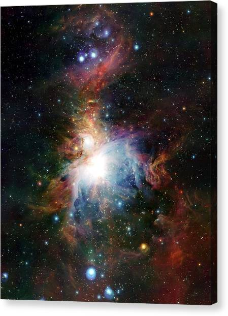 Orion Nebula Canvas Print by European Southern Observatory/science Photo Library