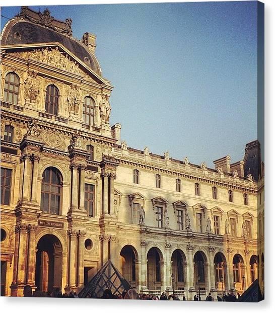 Paris Skyline Canvas Print - #paris #france #lifestyle #urban by Ppc Ppc