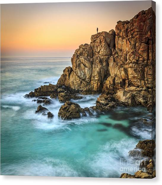 Penencia Point Galicia Spain Canvas Print