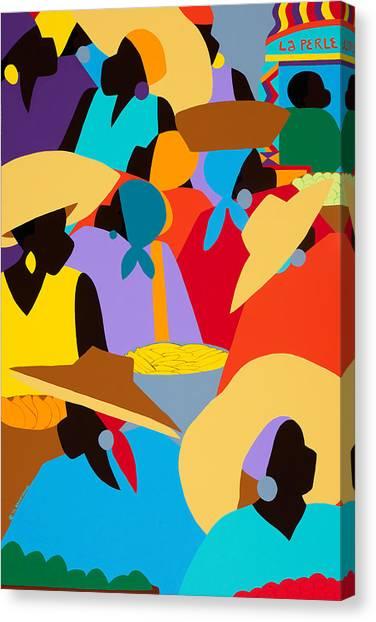 Canvas Print - Petion-ville Market I by Synthia SAINT JAMES