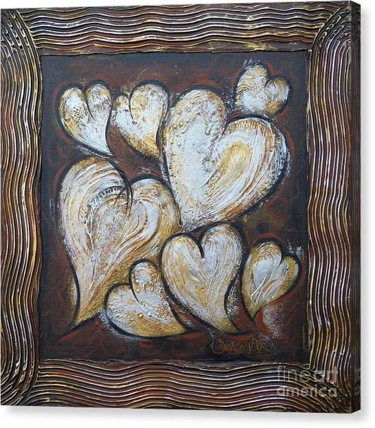 Precious Hearts 301110 Canvas Print