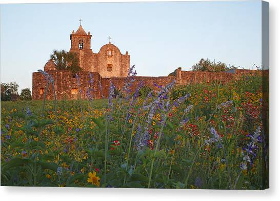Presidio La Bahia 2 Canvas Print