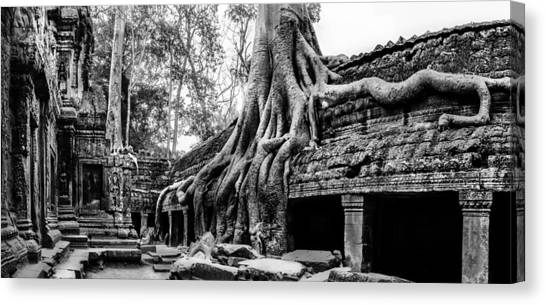 Ta Prohm Ruin Canvas Print
