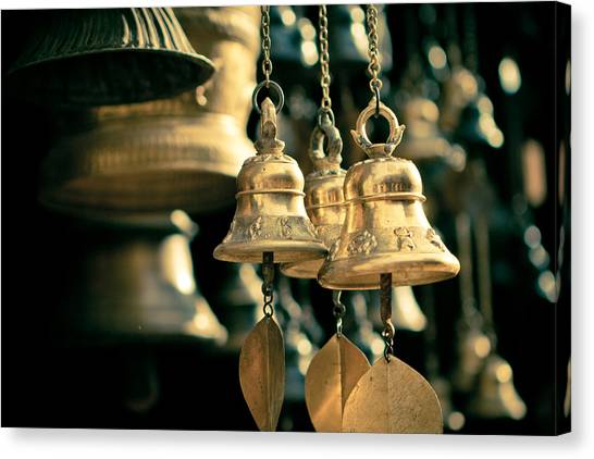 Sacrificial Bells Canvas Print
