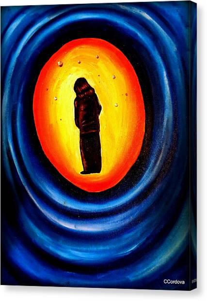 Spiritual Journey-1 Canvas Print by Carmen Cordova