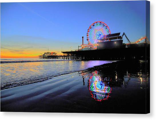 Star Wheel Canvas Print