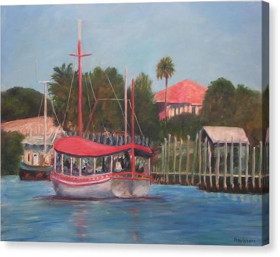 Tarpon Springs Florida Canvas Print