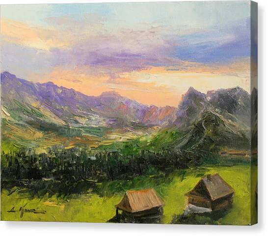 Tatry Mountains- Poland Canvas Print