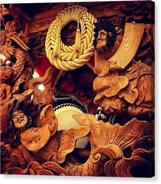 Samurai Canvas Print - Touki Danjiri Festival by My Senx