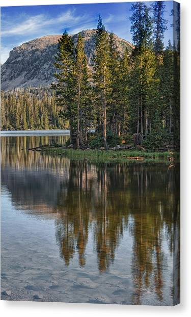 Uinta Mountains Utah Canvas Print