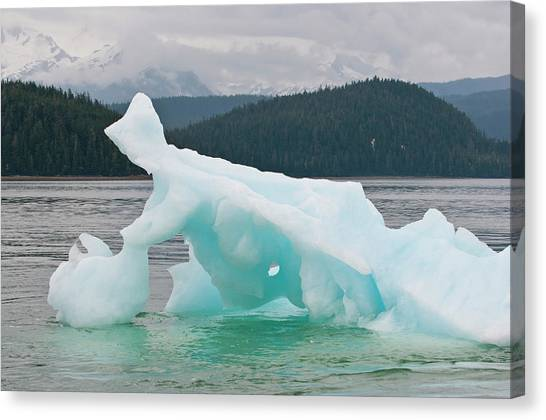 Tongass National Forest Canvas Print - Us, Ak, Inside Passage by Trish Drury