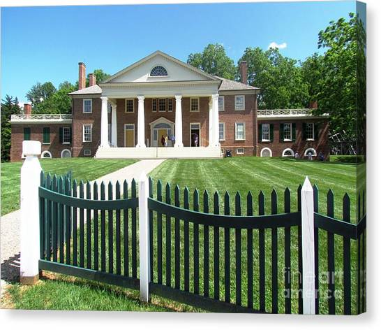Virgina Madison Home Canvas Print
