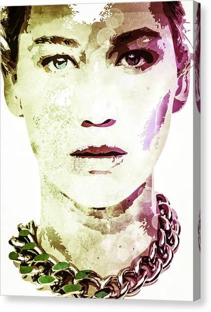 Jennifer Lawrence Canvas Print