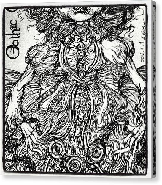 Rococo Art Canvas Print - Instagram Photo by Akiko Okabe