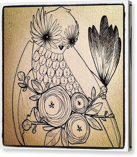 Owls Canvas Print - Instagram Photo by Lindsay Marie April