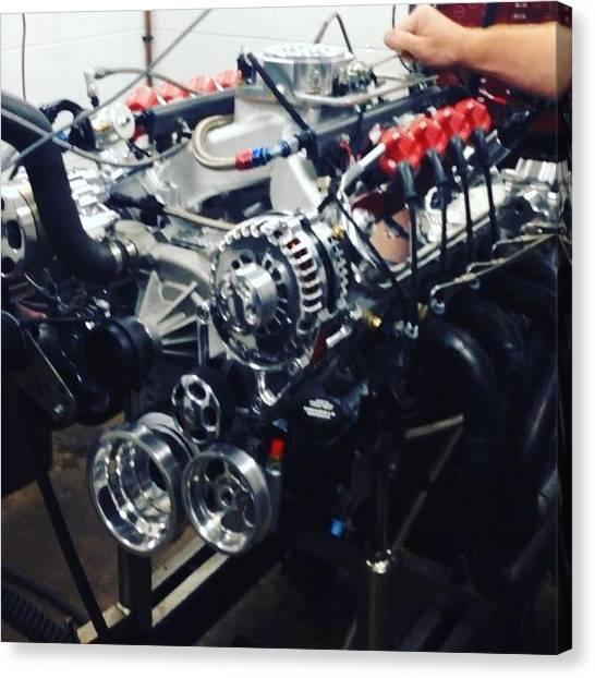 Racing Canvas Print - 427 @dart Ls Next Making Noise @borowski by Borowski Race