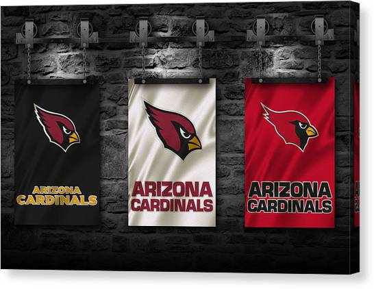 Arizona Cardinals Canvas Print - Arizona Cardinals by Joe Hamilton