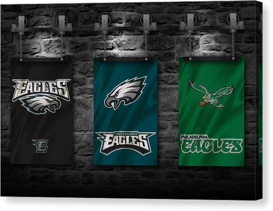 Philadelphia Eagles Canvas Print - Philadelphia Eagles by Joe Hamilton