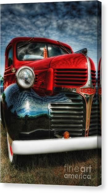 47 Dodge Pickup Canvas Print