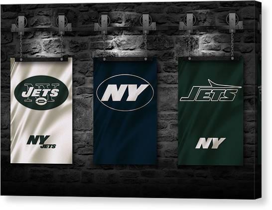 New York Jets Canvas Print - New York Jets by Joe Hamilton