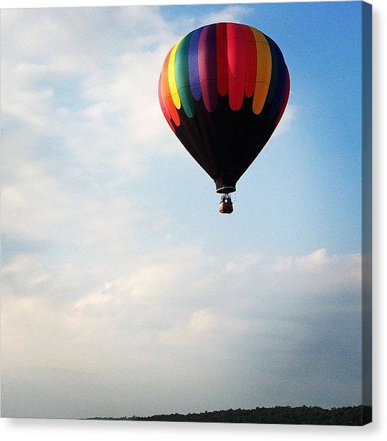 Hot Air Balloons Canvas Print - Hot Air Balloon by Megan Parmelee