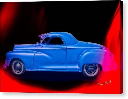 48 Dodge Salesman Coupe Rat Rod Canvas Print