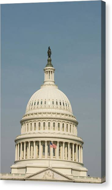 Washington Dc, Usa Canvas Print by Lee Foster