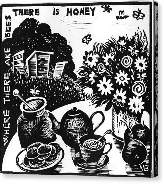 American  Proverbs Canvas Print