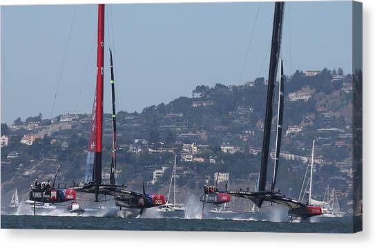 America's Cup 34 New Prices Canvas Print
