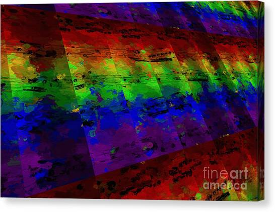 5-bar Multi-timbral Pastiche Canvas Print