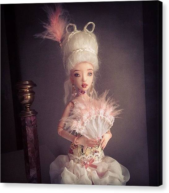 Baroque Art Canvas Print - #bjd #art #doll #dolls #balljointed by Anna Gechtman