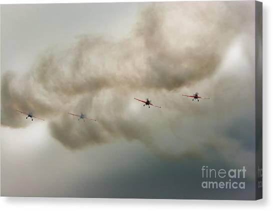 Yaks Canvas Print - Blades by Angel Ciesniarska