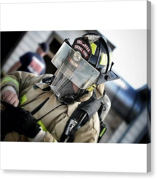 Firefighters Canvas Print - Brand 34 Photography by James Crawshaw