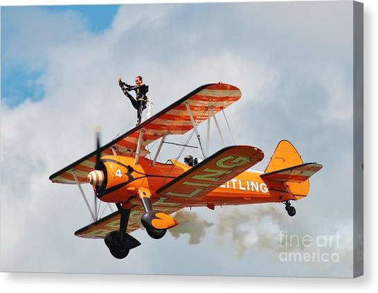 Breitling Wingwalkers Team Canvas Print
